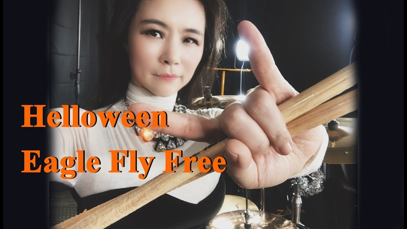 Helloween Eagle fly free drum cover by Ami Kim 94