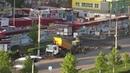 Укладка асфальта остановка Рынок Ведутся дорожные работы Благоустройство Новочебоксарск 21 05 2020