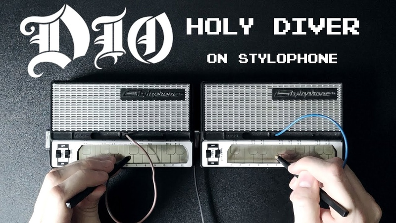 Dio Holy Diver Stylophone cover w solo