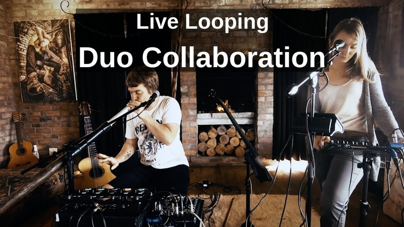 Boss RC 505 Loop Station Live Looping EDM Trance