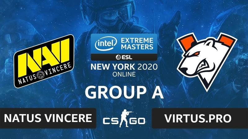 CSGO - Virtus.pro vs Natus Vincere [Overpass] Map 2 - IEM New York 2020 - Group A - CIS