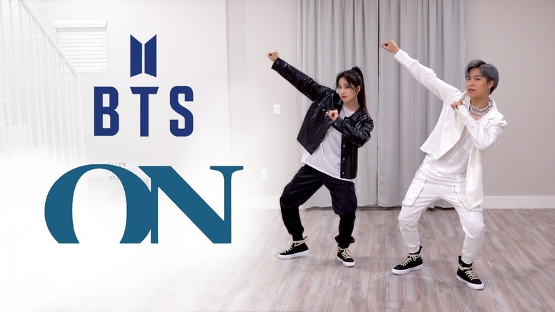 BTS 방탄소년단 'ON' Dance Cover Ellen and Brian
