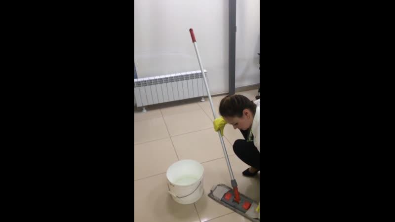 Никудышные уборщицы в Сбере
