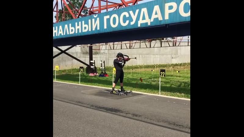 Екатерина Юрлова Перхт тренируется в Токсово июль 2020