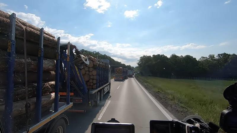 Опасная ситуация на дороге Невнимательный коллега