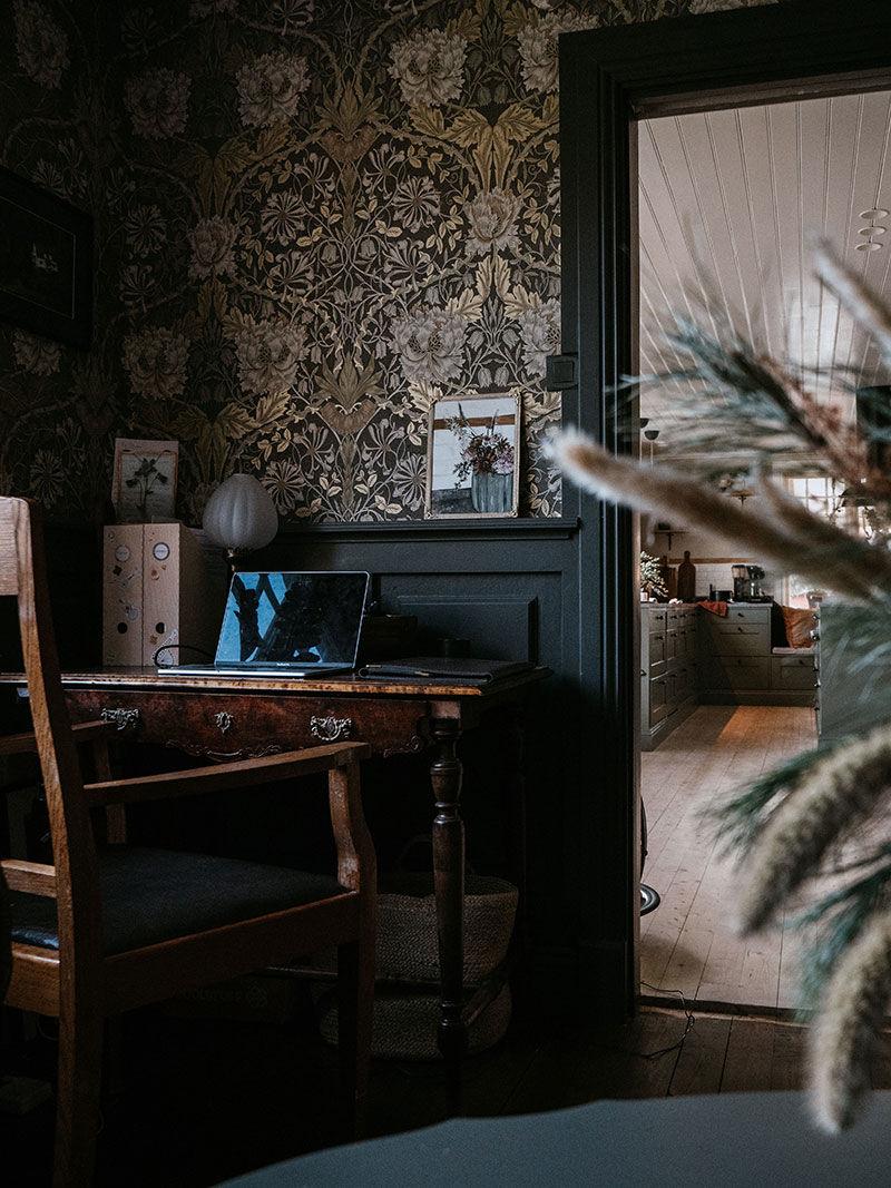 Прекрасная скандинавская дача с винтажными деталями и душевной обстановкой || 02
