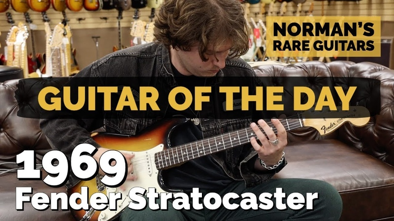 Guitar of the Day 1969 Fender Stratocaster Norman's Rare Guitars