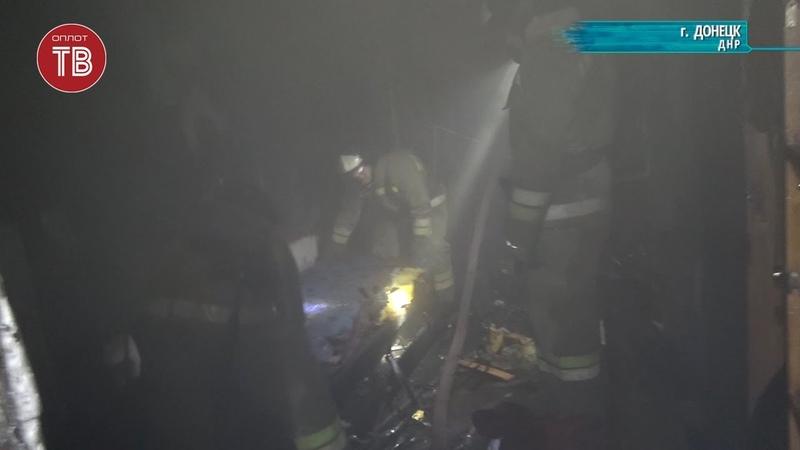 Пожар в родильном отделении Донецкой больницы №6
