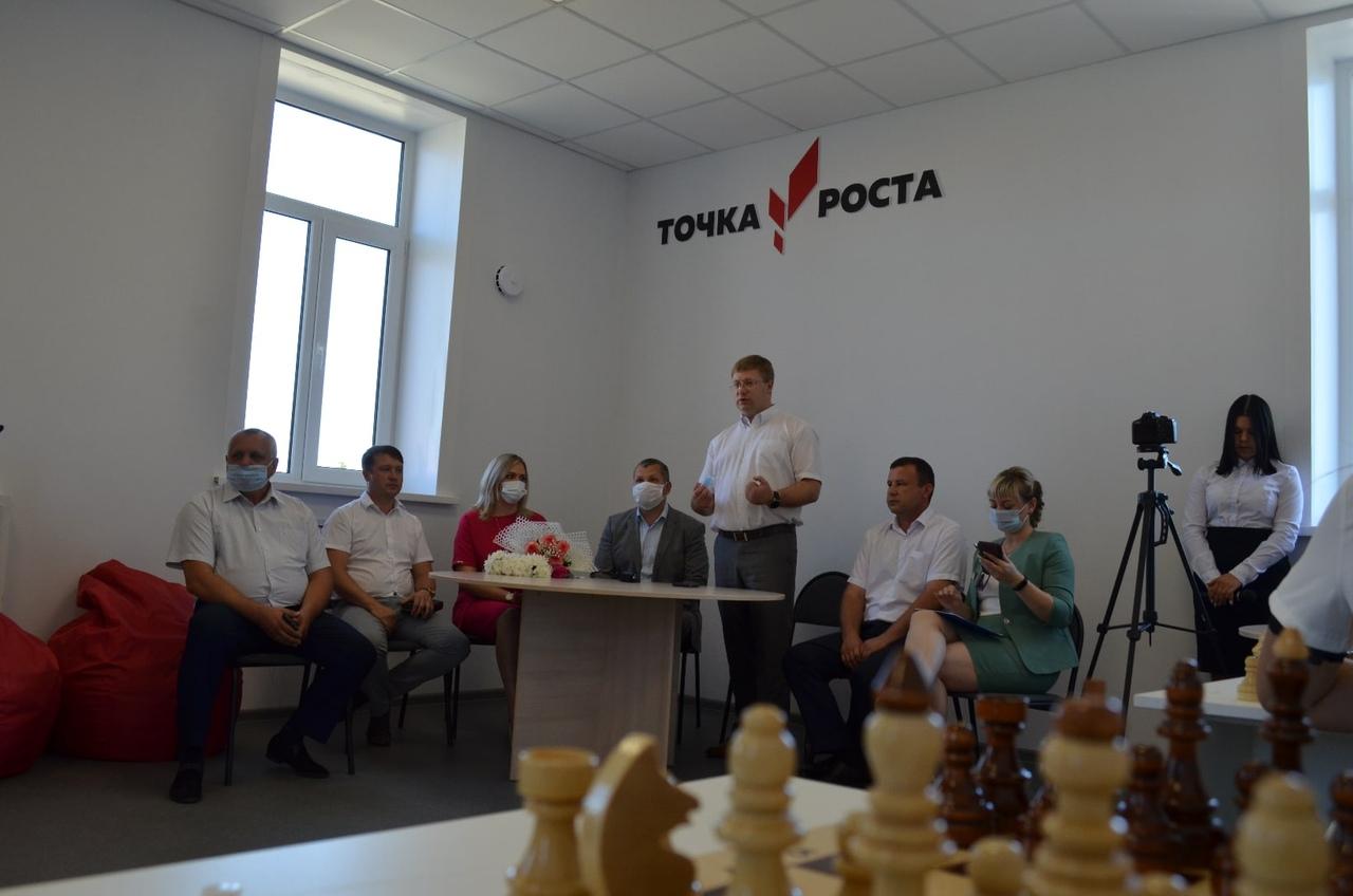 В школе №1 Петровска начинает работу образовательный Центр «Точка роста»