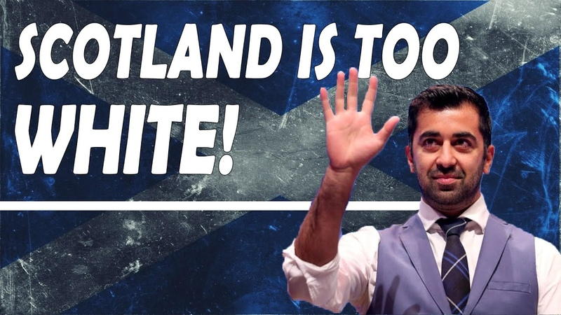 Humza Yousaf and Anas Sarwar Everything Is Too White