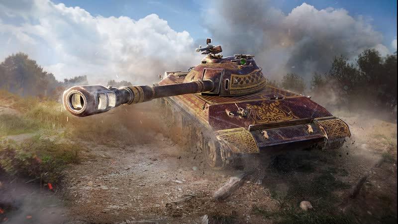 WZ 113 Медный воин Бой на Мастера Броня Во Плоти