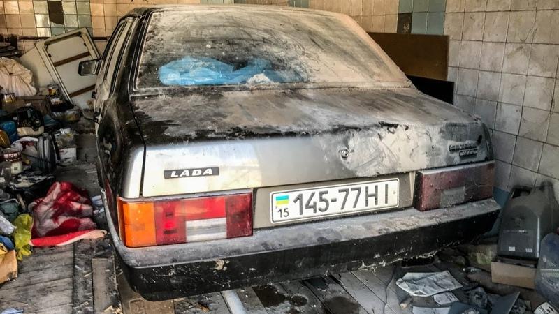 25 лет в гараже НОВАЯ 21099 ВАЗ экспортная Капсула времени Lada Samara