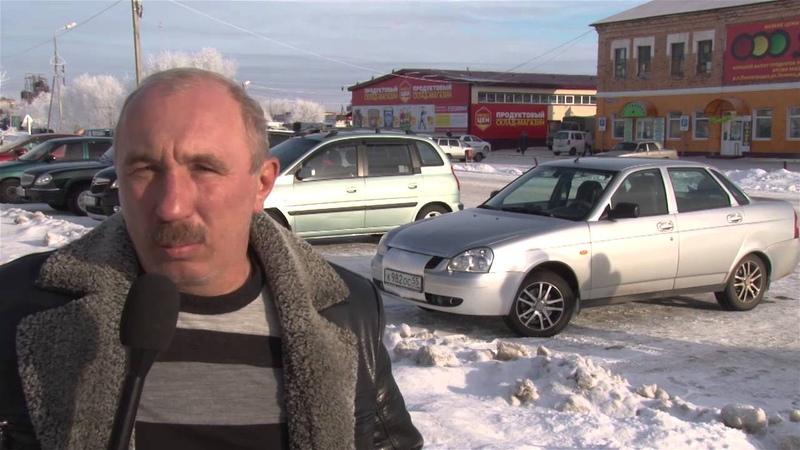Встреча Андрея Алехина в Павлоградке