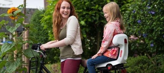 Выбирайте детское велокресло и катайтесь всей семьей!