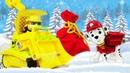 Видео игры с Щенячий Патруль - Крепыш и Маршал нашли Подарки! - Новые игры для мальчиков