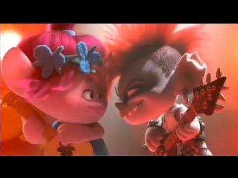 Trolls World Tour Queen Barb Vs Poppy Scene Pop vs Rock Music