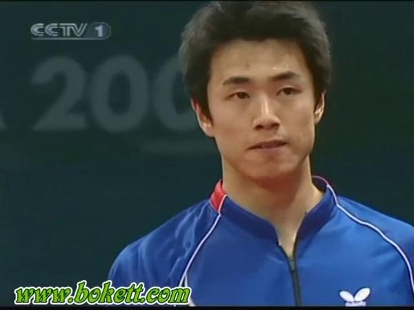 Asian Games 2006 Chen Qi vs Joo Se Hyuk