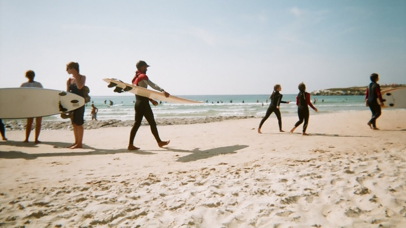 TRAVEL WITH ME: ONE DAY IN PENICHE SURF CAMP