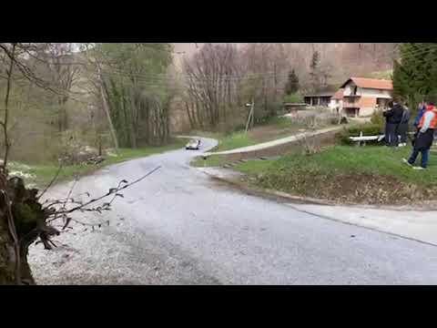 Тесты Toyota и Калле Рованперы перед ралли Хорватия 2021