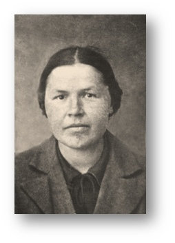 На фото Евсеева Анна Ивановна – наша мама, 1944 год