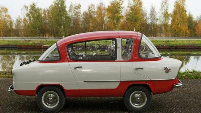 Необычный автомобиль Советского Союза НАМИ А 50 Белка