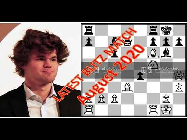 Magnus Carlsen Attempts for Highest Rating in Lichess Blitz 4 Aug 2020