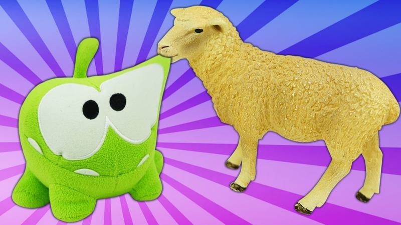Приключения Ам Няма новые серии Видео с игрушками Ам Ням считает овец перед сном