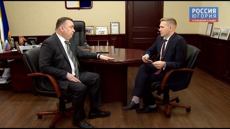 Вести - интервью с Максимом Клецем