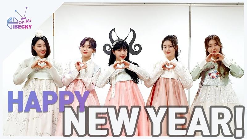 새해 복 많이 받으세요 퍼플백 한복 입었어요~~