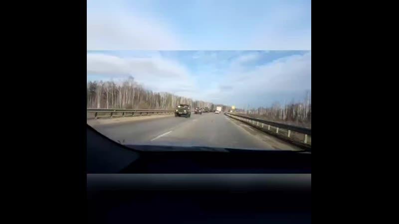 Екатеринбургская кольцевая автодорога ЕКАД (27.03.2020)